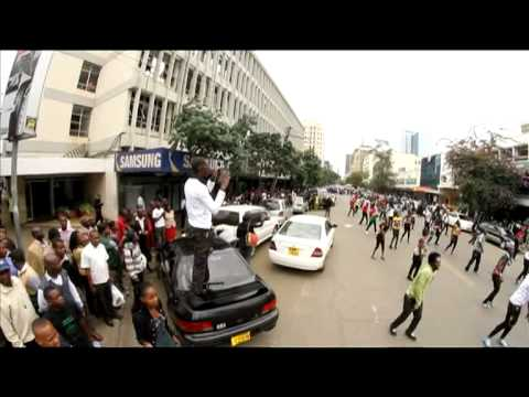 kenyan - Kenyans rocked the streets with over 400 dancers to show their support for Team Kenya at the London 2012 Olympics which will be shown LIVE on DStv's SuperSpo...
