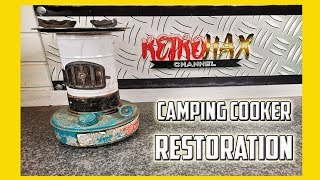 Camping Cooking Stove Restoration