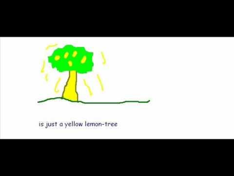 Tekst piosenki Sting - Lemon Tree po polsku