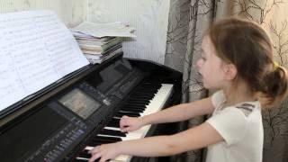 Темная ночь (Баста). Дети поют. Виктория Викторовна. 6 лет.