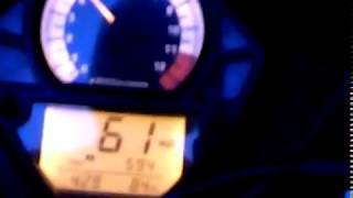 9. Sv1000s acceleration test