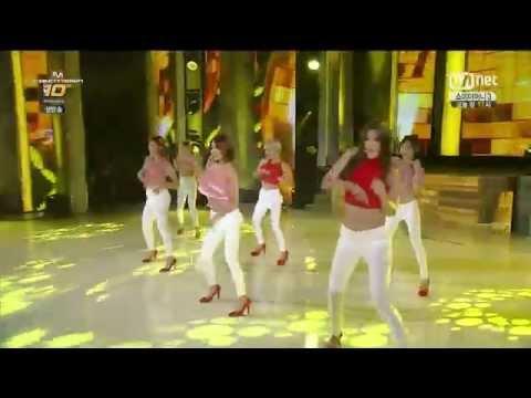[HD] 140724 AOA - Tell Me (Wonder Girls Cover) (видео)