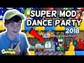 How a @Mod Enjoys SuperModDanceParty | Growtopia (2018)