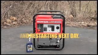 6. Motor Honey Complete Fuel System Cleaner Tune Up Honda EB3000C Generator