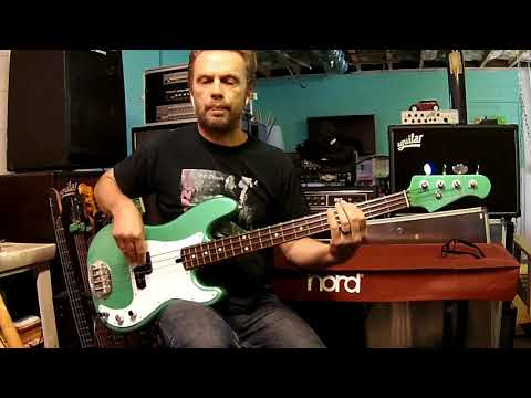 Fooled Around and Fell in Love - Evlin Bishop (Michael Brooks) bass cover