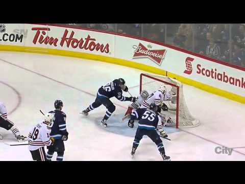 Chicago Blackhawks vs Winnipeg Jets 29.03.2015