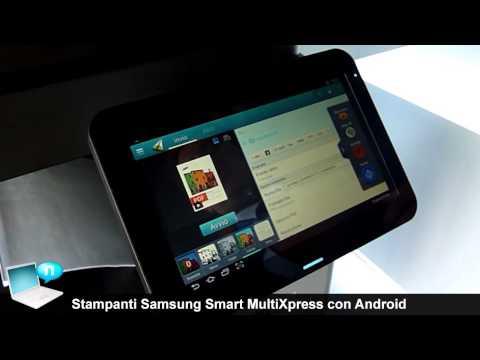 Stampanti multifunzione Samsung Smart MultiXpress con Android