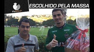 """O prêmio """"Escolhido pela Massa"""" é um oferecimento de Vilma Alimentos. Melhor em campo na final da Copa do Brasil Sub-20,..."""