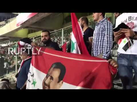 Iran: Syrian fans pull Mexican waves as national team gets closer to World Cup