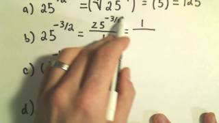 Evaluating Numbers with Rational Exponents by using Radical No...