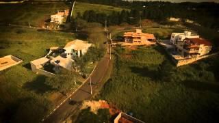 Filmagem aérea com Pôr do Sol