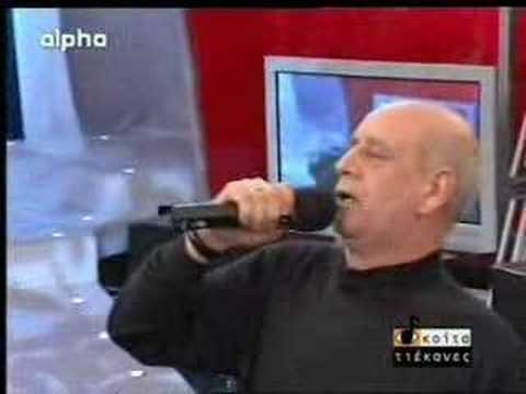 Roza - awsome singer - mitropanos sing his best song roza... and dance zeibekiko, gie sou mitropanos.