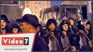 بالفيديو..انفجار محيط مقر السفارة الإسرائيلية