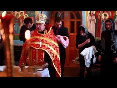 09.02.2014 Видеограф 4 Крестины (видео)