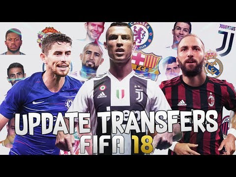 HOW TO SQUAD UPDATE (UPDATE TRANSFERS) IN FIFA 18! | FIFA 18 TIPS AND TRICKS!