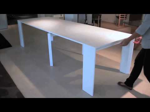 resource furniture - Ron Barth, President of Resource Furniture, chats with us about their latest space-saving pieces, including a 17-inch console that transforms into a 10-foot ...