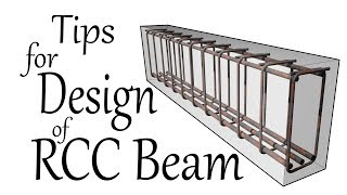 Tips for Design of RCC Beam - Civil Engineering Videos