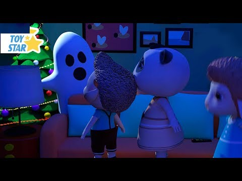 New 3D Cartoon For Kids ¦ Dolly And Friends ¦ Christmas Real Ghost #71