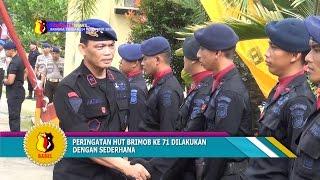 HUT BRIMOB KE 71 DI BANGKA BELITUNG DILAKUKAN DENGAN SEDERHANA #TRIBRATA NEWS