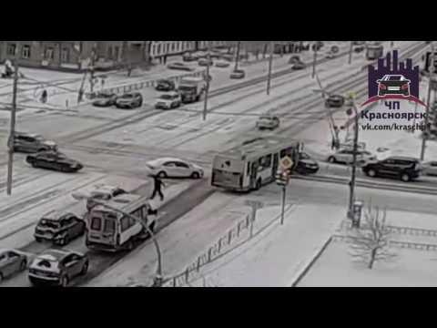 Красноярский рабочий - Сибирский переулок 19.11.2016