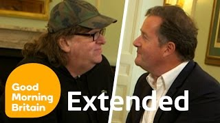 Nonton Michael Moore On Guns  Trump And The Eu With Piers Morgan   Full Interview   Good Morning Britain Film Subtitle Indonesia Streaming Movie Download