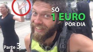 DORMI NA RUA EM AMSTERDÃ - VIAJANDO COM 1 EURO POR DIA - parte 3
