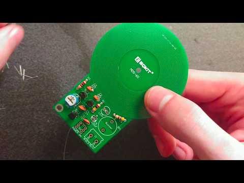 ICStation Metal Detector DIY Kit: Assembly