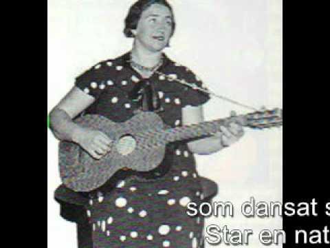 KARIN JUEL   Sailor song 1933 (видео)
