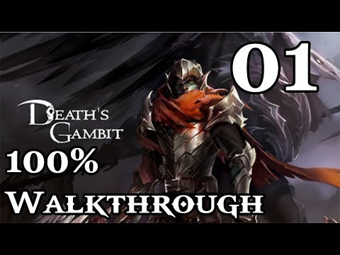 Death's Gambit - Walkthrough Part 1: Gaian's Cradle