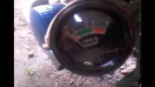 Указатель давления масла механический на мотоблок Мотор Сич