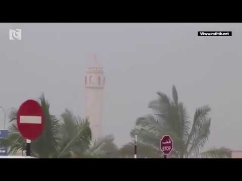 Video: Rains and strong wind lash out across Salalah as the sea rages