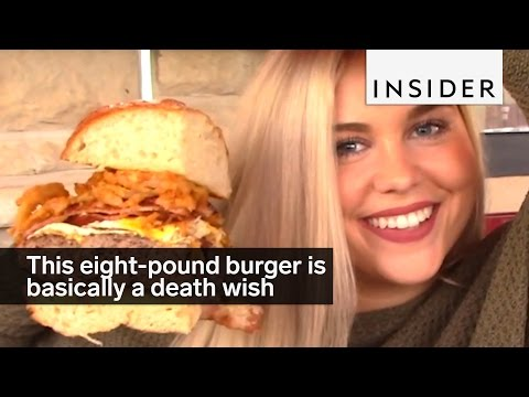 Eating this Massive Burger is the Last Thing You Will Ever Do