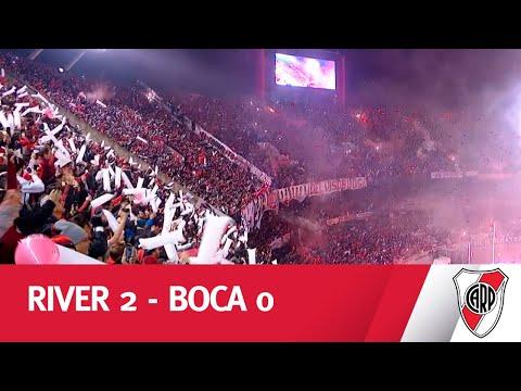 LA OTRA CARA DEL SUPERCLÁSICO - River vs Boca Ida Semifinal Copa Libertadores