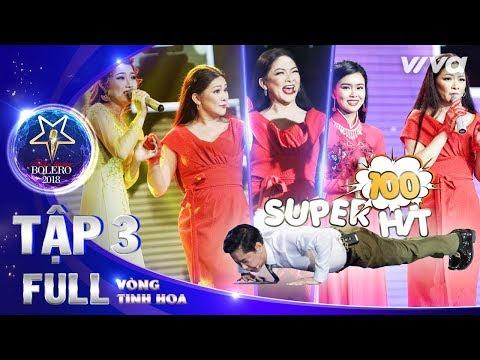 Thần Tượng Bolero 2018 Tập 3 Full HD | Vòng Tinh Hoa: Như Quỳnh bội thu vượt mặt Quang Lê & Ngọc Sơn - Thời lượng: 58:35.