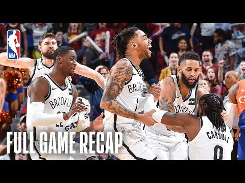 Video: NETS vs CAVALIERS | TRIPLE-OT THRILLER | February 13, 2019