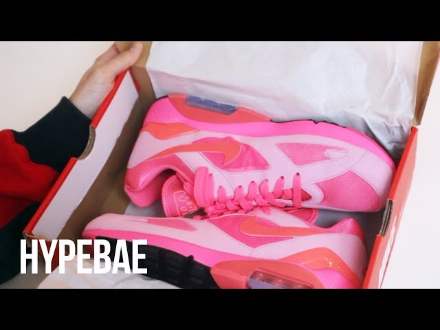 COMME Des GARCONS X Nike Air Unboxing Max 180 CDG Pink Unboxing Air In Dreams 7a78db