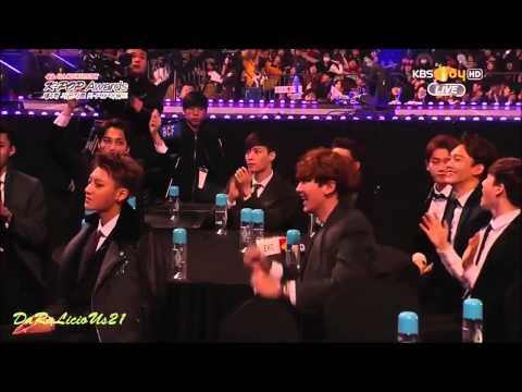 Awards - [CHANDARA] Chanyeol & Dara - GAON K-POP Music Awards 2015 shipping is for fun, don't take it too seriously ^^