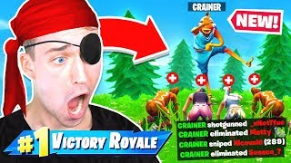 WINNING Fortnite with ONE EYE Challenge!