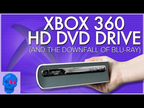 History of the Xbox 360 HD DVD Drive and the Blu-ray War Explained | Past Mortem [SSFF]