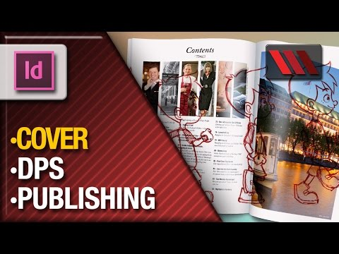 Digital Publishing Suite - Mark Plunkett from VOXLAB shows how you can create an animated cover InDesign for publishing in devices like iPad with Digital Publishing Suite.