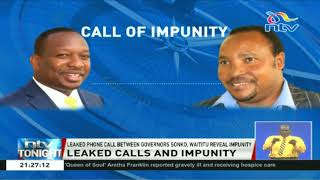 Video Leaked phone call between Waititu and Sonko reveals impunity MP3, 3GP, MP4, WEBM, AVI, FLV Agustus 2018