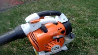 3. In Depth Review of the Stihl BG55 and BG86 Handheld Leafblowers