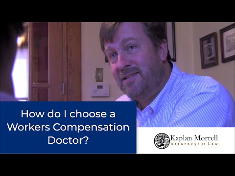 video:Choosing A Workers Compensation Doctor: Denver Workers Comp Attorneys Explain DIME