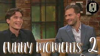 Video Cillian Murphy & Jamie Dornan Funny Moments PART 2 MP3, 3GP, MP4, WEBM, AVI, FLV Januari 2018