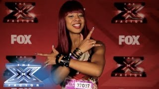 Yes, I Made It! Primrose Martin - THE X FACTOR USA 2013