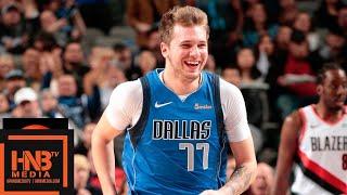 Dallas Mavericks vs Portland Trail Blazers Full Game Highlights | 12.04.2018, NBA Season