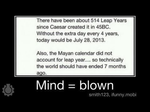 Re%3A Leap Years%2C 2012 %26 The Mayan Calendar