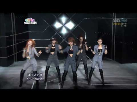 [HD] Who's Next & Huh – 4Minute & BEAST (B2ST) 100523