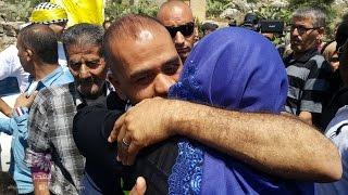 الافراج عن الاسير مهراج شحادة بعد قضاء محكوميته البالغة 15 عاماً
