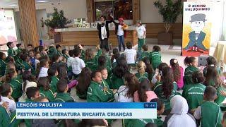 Lençóis Paulista promove Festival Integrado de Literatura com diversas atividades e apresentações